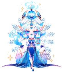 [Adopt] Flaming Frostbite by Starlipop