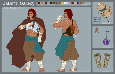 Character Sheet : Garrett Oakley by Sorelliena