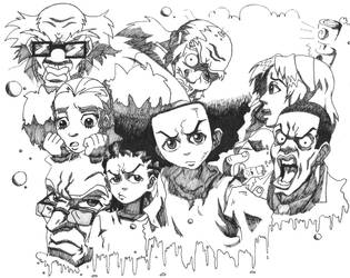 The Boondocks Complete by SakumaraOokami