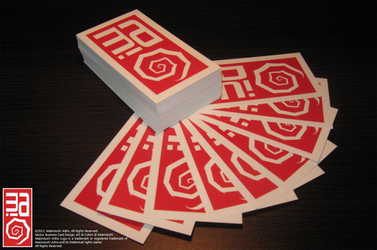 Makintosh! A(r)ts Business Card Design by Makintosh91
