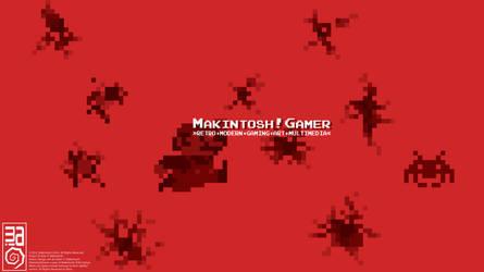 MakintoshGamer YouTube Channel Art Design by Makintosh91