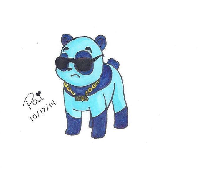 That Panda Thug Life By Zyfire7 On Deviantart