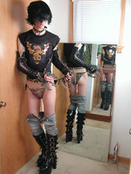 Ooops ... wardrobe malfunction by dude-girl