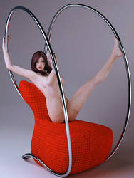 interesting chair by SaphireNishi