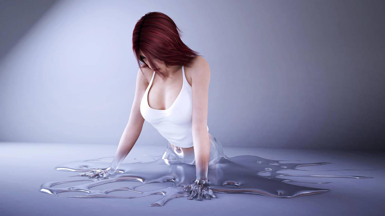 wetness by SaphireNishi