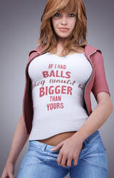 if i had balls.... by SaphireNishi