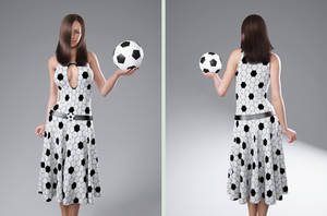 soccer dress by SaphireNishi