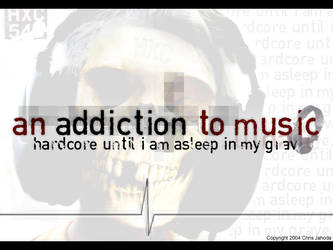 An Addiction to Music by jumpinjahoda
