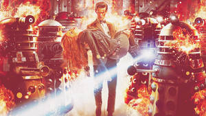 Doctor Who Wallpaper by Ohbloody-hell