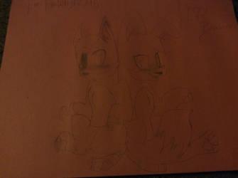 :FNAF: Foxy and Bonnie by Arcticwolf39905