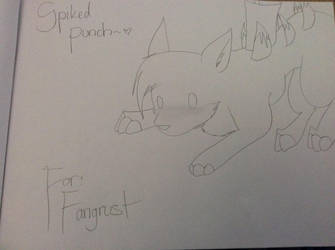 Spiked Punch ( Request ) by Arcticwolf39905