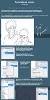 Basic coloring tutorial PSCS2 by Lee-nus