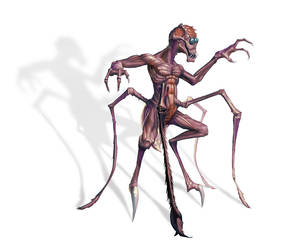 Arachno Sapien by MichaelJaecks