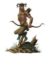 Satyr for Paizo Publishing by MichaelJaecks