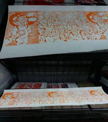 FMP orange print by abstars