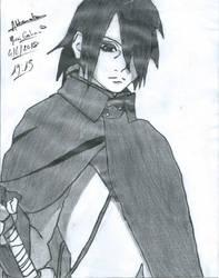 Sasuke Uchiwa by Mirai-Gohan