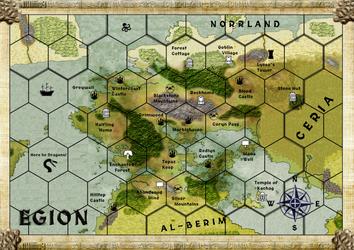 Egion Map by TarrasqueGames