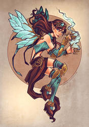 Lorena - Original Character by bluessence