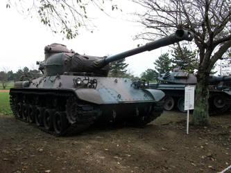JGSDF Type 61 MBT No.1 by fujihayabusa