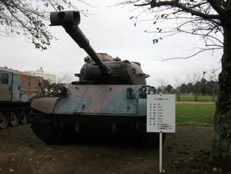 JGSDF Type 61 MBT No.2 by fujihayabusa