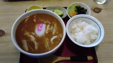 Kare udon by fujihayabusa