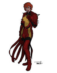 Rachel Summers aka Marvel Girl by tsbranch