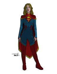 Supergirl by tsbranch