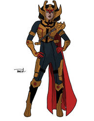 Big Barda by tsbranch