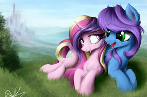 Liquid Harmony (Commission) by AurelleahFreefeather