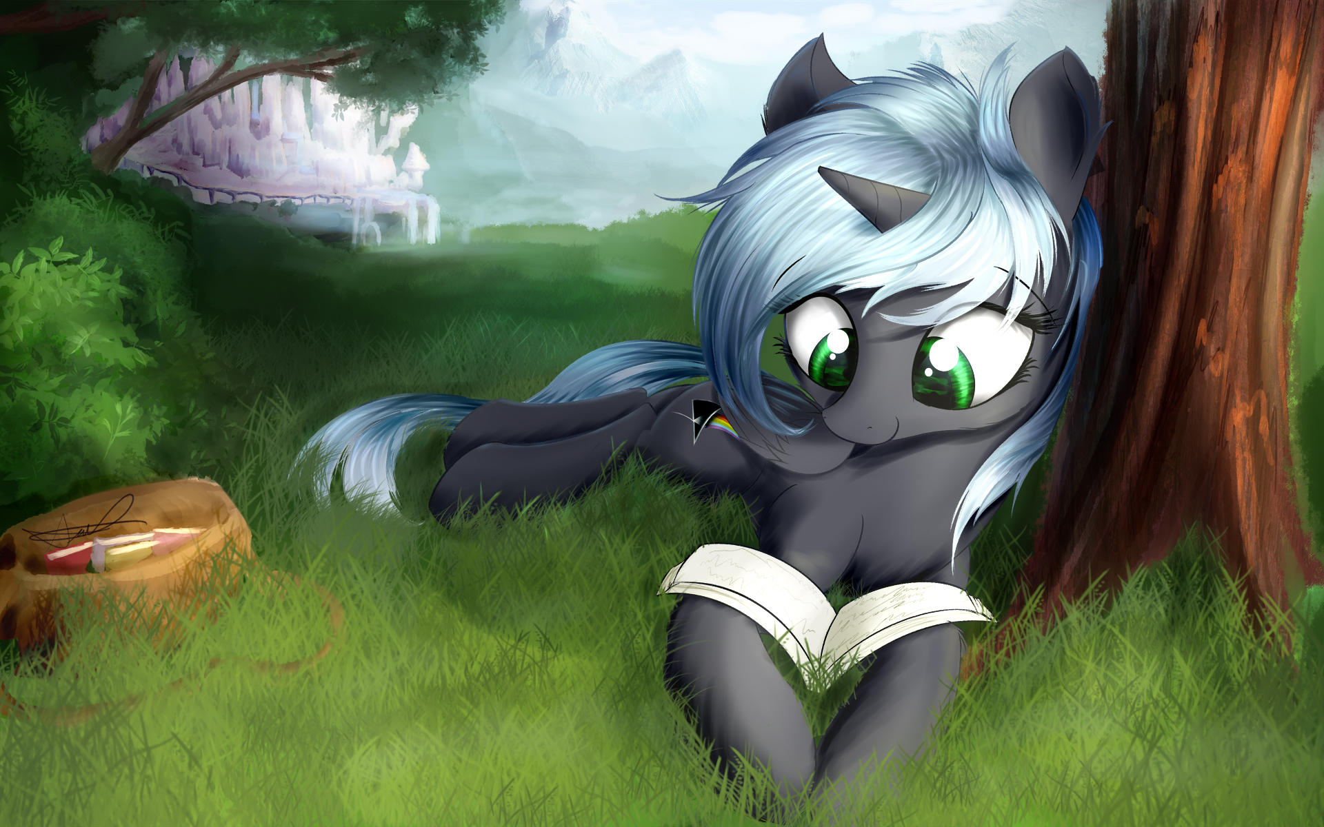 Quantum Flash: Mid-day Reading Session by AurelleahFreefeather