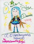 Sailor Star Dazzle OC by DaddyMyGuardianAngel