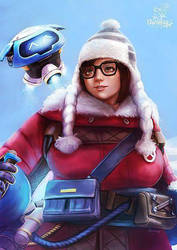 Mei  snowball by Geirahod