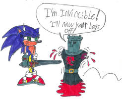 Sonic and the Black Knight by Code-E