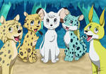 Leo et ses amis - Kimba the white lion by DisccatFR