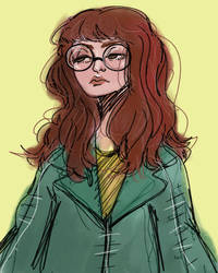 Daria Morgendorffer by oxydrawing