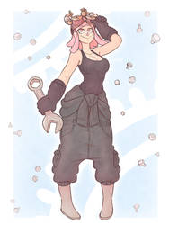 Mei Hatsume by Ruff-Sketches