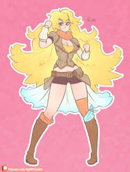 Yang Xiao Long by Ruff-Sketches