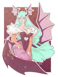 Morrigan by Ruff-Sketches