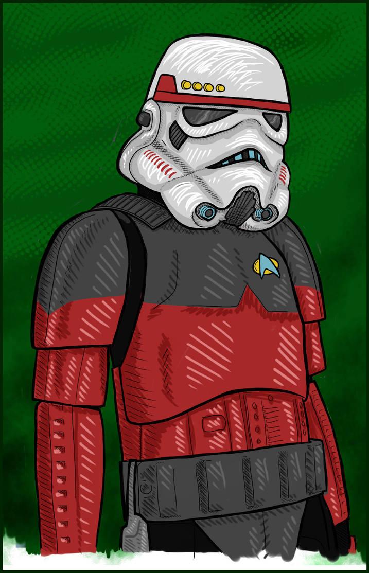 Star Trek stormtrooper by janimutikainen