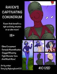 Raven Comic Release!!! by Bigbangboom100