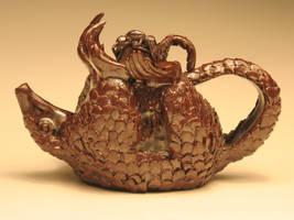 The Pangolin Teapot by eggyyockio