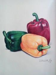Peppers by CrazyEdzia