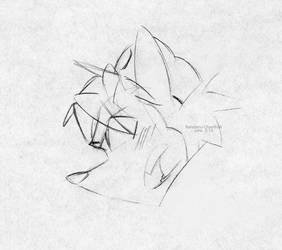 Police Zeek Sketch by Randamu-Chan