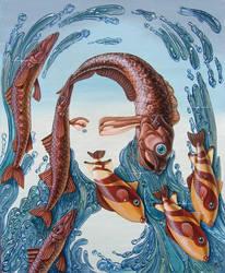 Mona Lisa - Water by VictorMolev