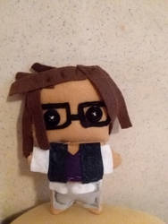 Mat Sella Plushie  (Dream Daddy) by Yelliebeans