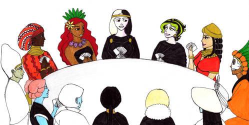 Death Deity Club by ladyblackbird13
