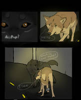Wolf's Rain Black Light 3 by SilverWolf7444