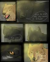 Wolf's Rain Black Light 4 by SilverWolf7444
