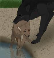 Babysitting by SilverWolf7444