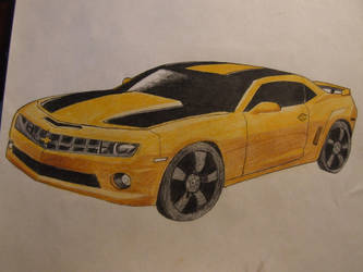 Bumblebee Camero by SilverWolf7444